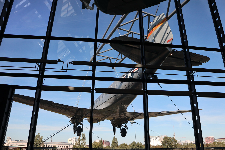 Rosinenbomber Douglas C-47B Skytrain- Deutsches Technikmuseum Berlin