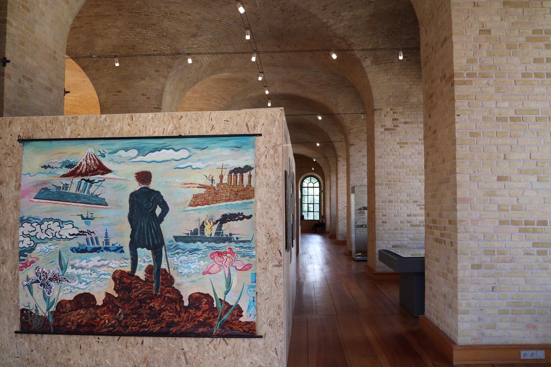 Der Naive Krieg- Ausstellung Zitadelle Spandau