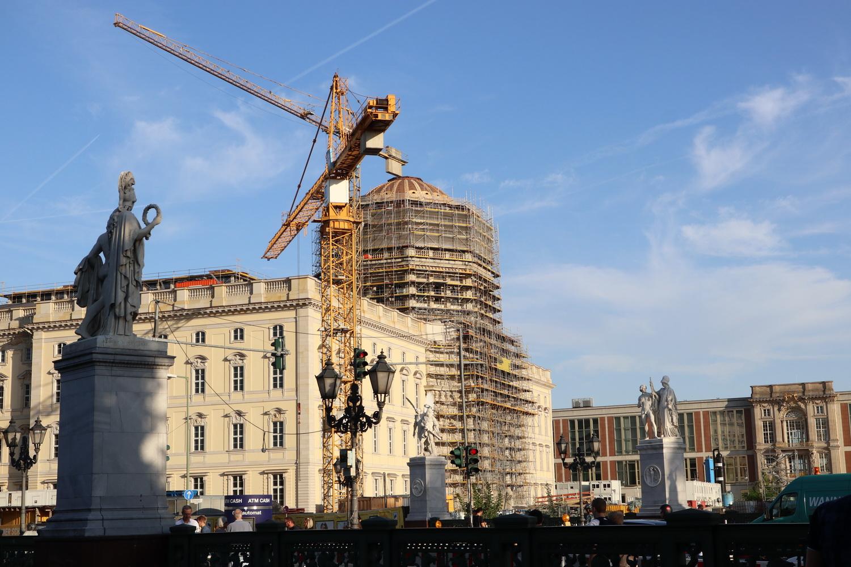Baustelle Berliner Stadtschloss 2019