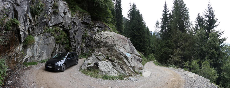 Militärstraße zum Ex-Forte Pozzi Alti