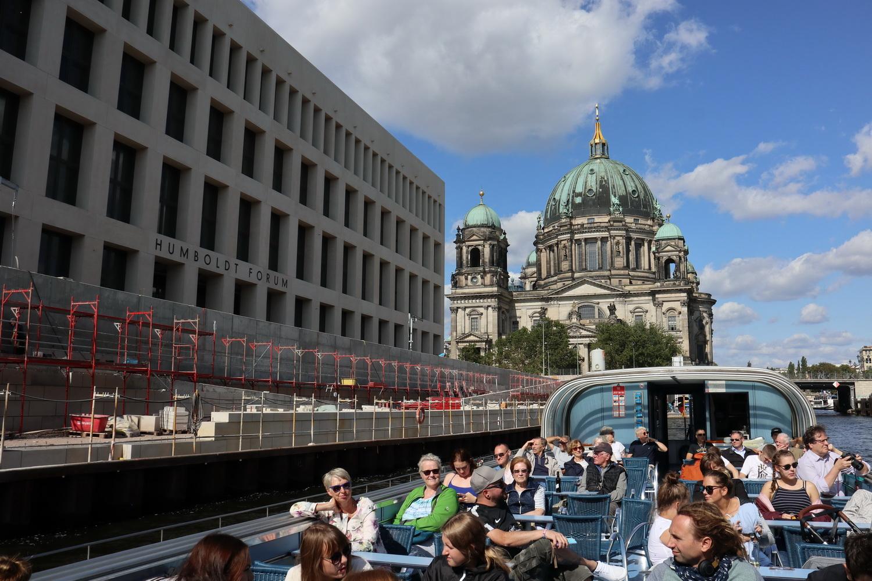 Spreerundfahrt- Berliner Dom und Humboldt Forum im Berliner Schloss