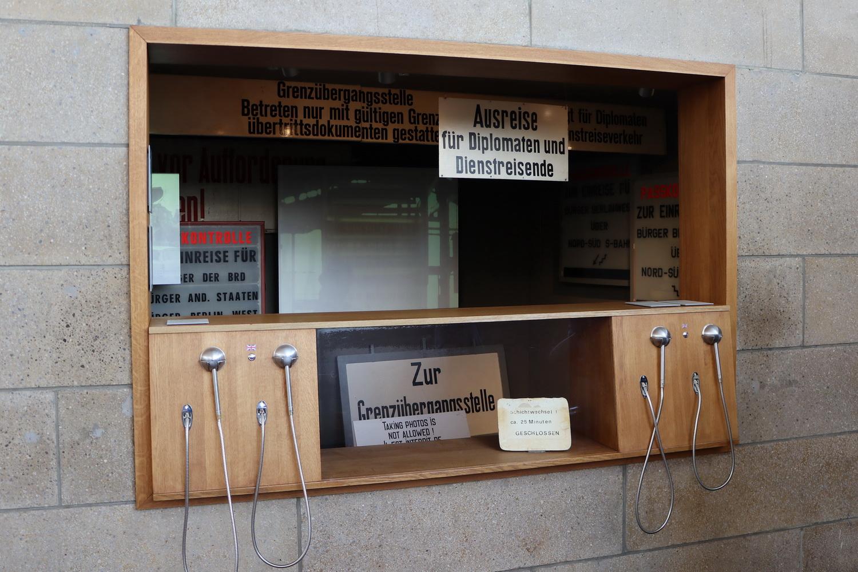 Im heutigen Museum im Tränenpalast