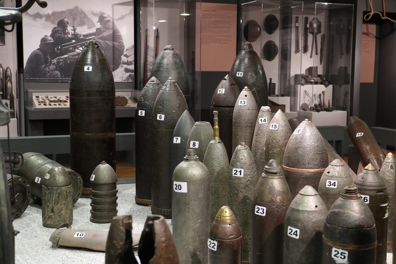 Full Metal Jacket- Galerie des Grauens im WWI- Museum Vermiglio