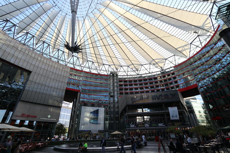 Sony- Center- Potsdamer Platz 2019