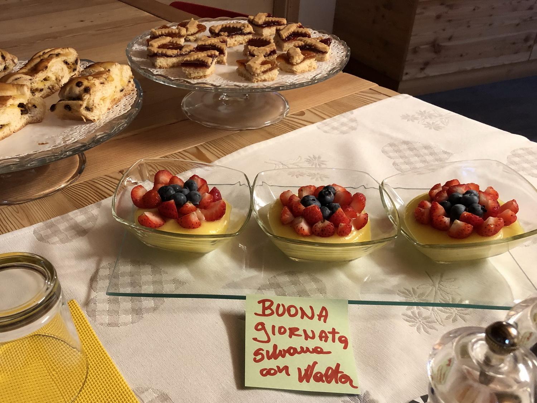 Frühstück mit Liebe im B&B Magnini