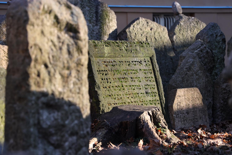 Grabinschrift- Jüdischer Friedhof