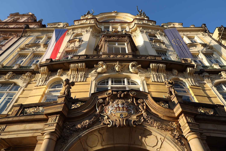 Prunkvolle Fassaden am Altstädter Ring