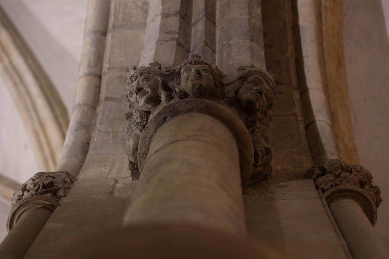 Kapitell im Chor der St. Franziskus- Kirche