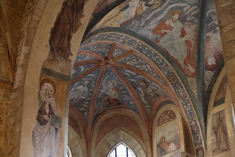 Fresken St. Georg