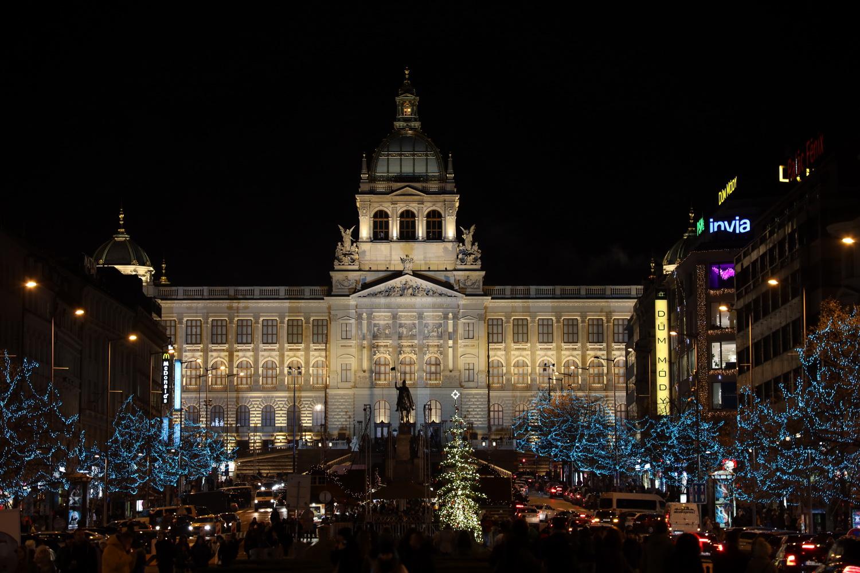 Nationalmuseum mit Hl. Wenzel