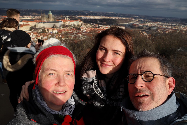 Auf dem Petřín- Aussichtsturm