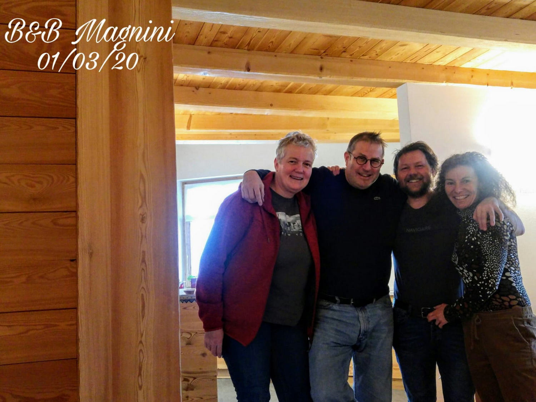 Doro und Arnd bei Sylvana und Walter