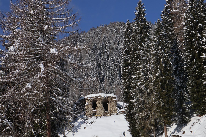 Ex- Forte Strino am Tonale Pass