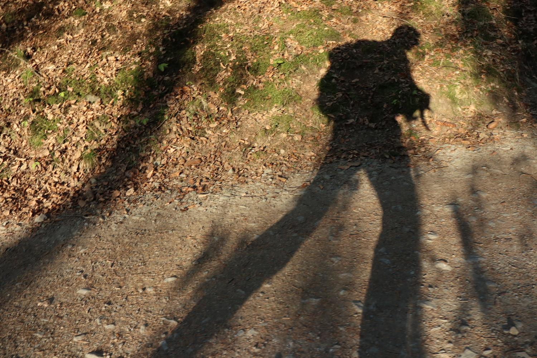 I'm walking....