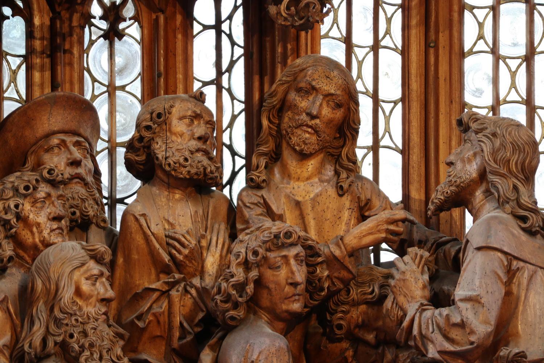 Heilig Blutaltar 1501-1504 - T. Riemenschneider
