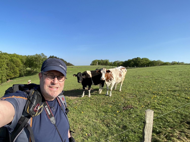 Selfie auf der Weide