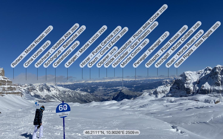 Alpenhauptkamm vom Grosté Pass
