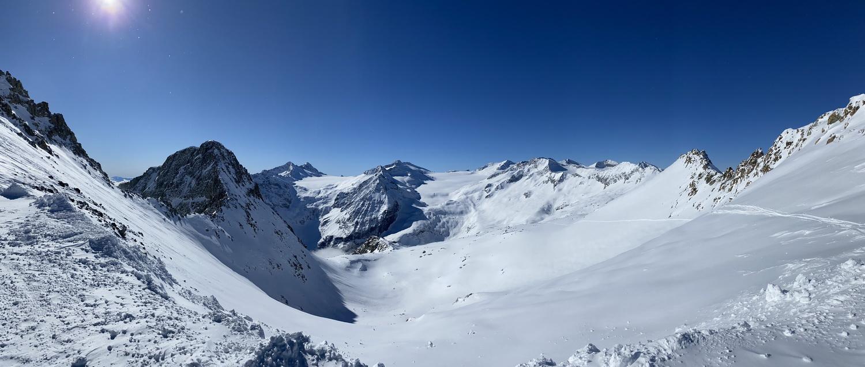 Pian di Neve mit Lobbia Alta