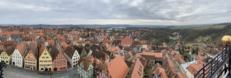 Panorama vom Rathausturm