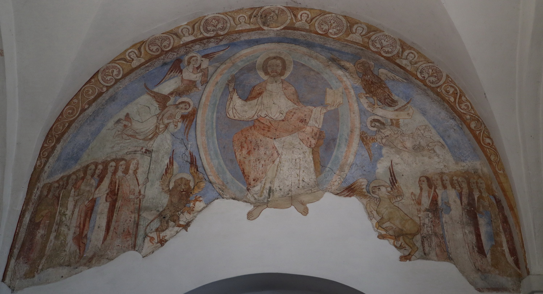 Christusdarstellung 1170 Ursulakapelle Kloster Steinfeld