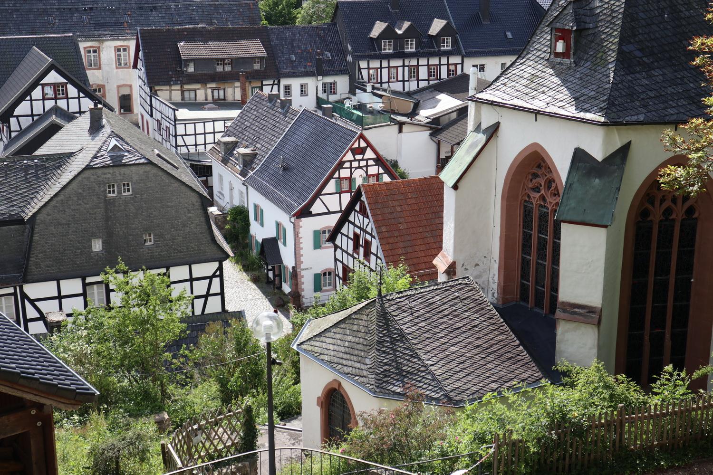 Blankenheim- Blick von der Burg