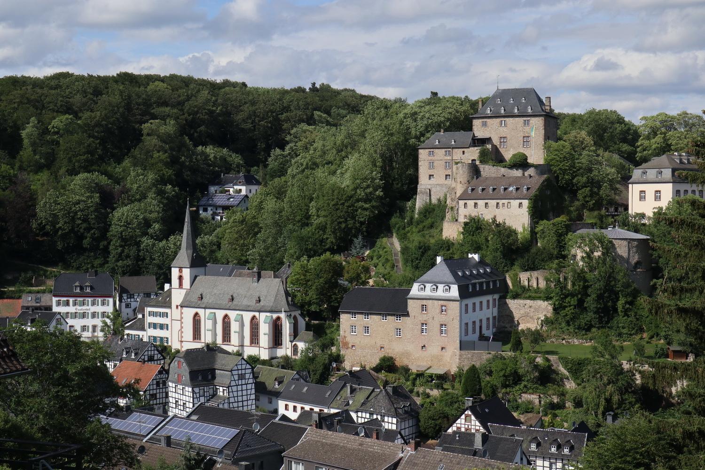 Blick auf Blankenheim