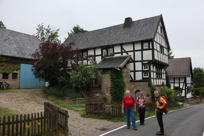 Fachwerkhäuser in Ripsdorf