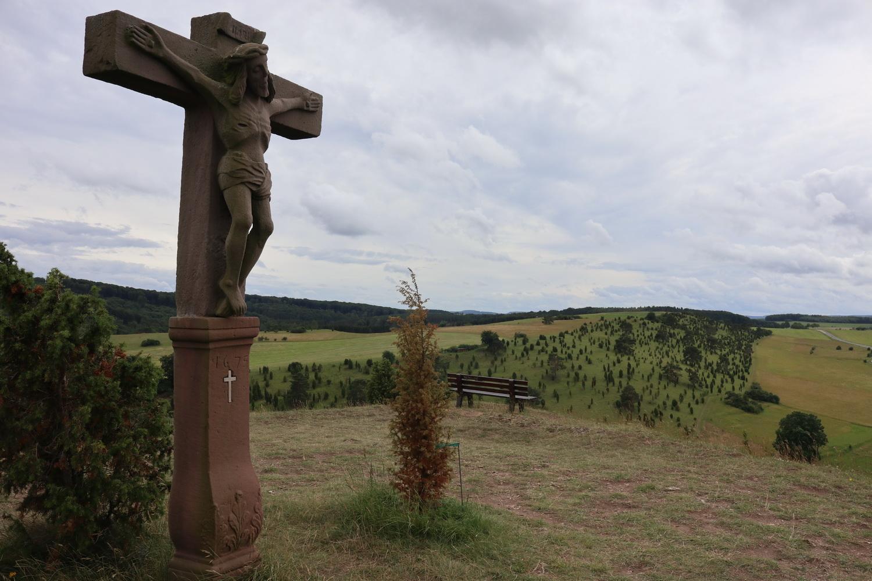Kreuz auf dem Kalvarienberg