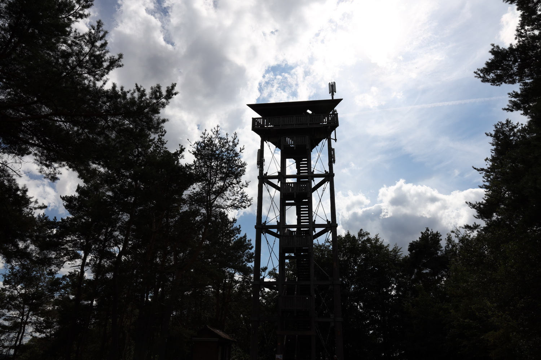 Der Eifelturm auf dem Schneeberg