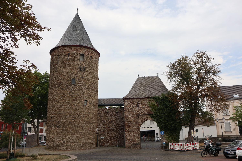 Rheinbach- Reste von Burg und Stadtbefestigung 13.Jh.