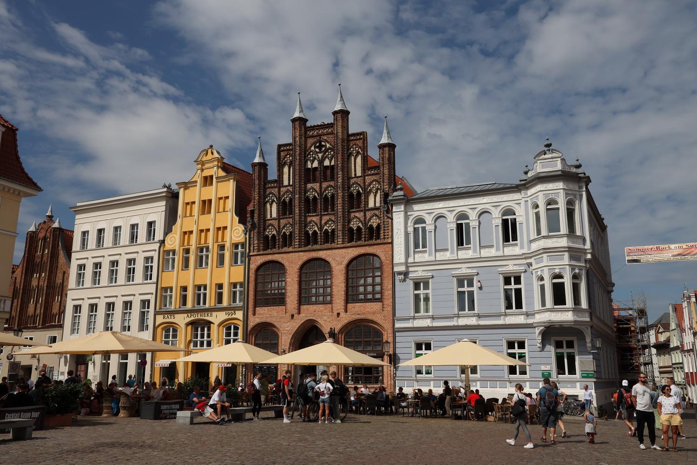 Hanse- Häuser am Rathausplatz