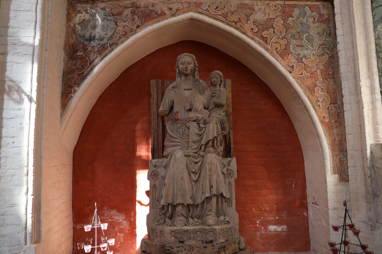 Heilige Anna mit Maria und kopflosem Jesuskind 1280