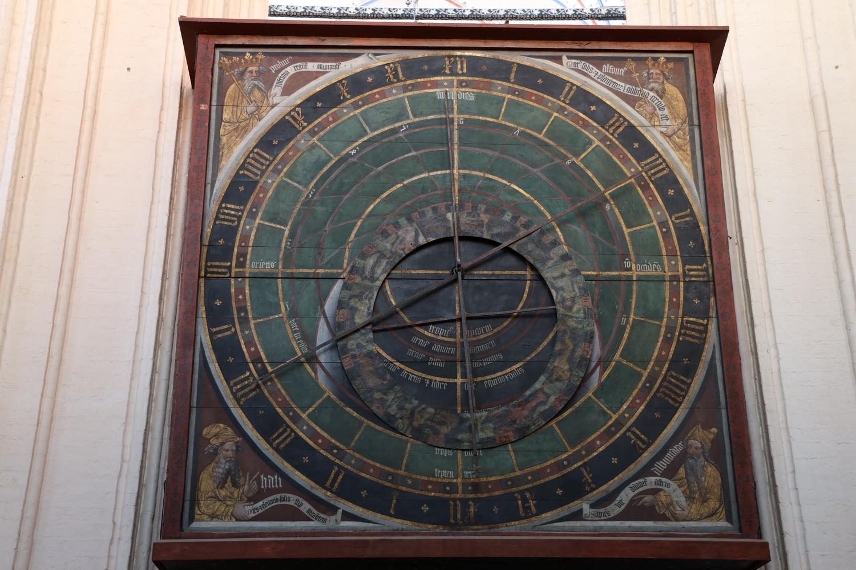 Astronomische Uhr 1394- Nikolaikirche Stralsund