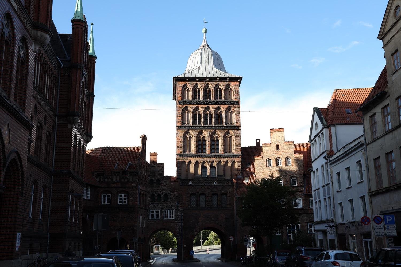 Das Burgtor- Nördliches Stadttor Lübecks