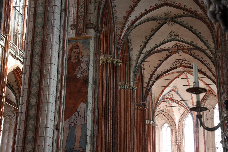 Kirchenschiff St. Marien zu Lübeck