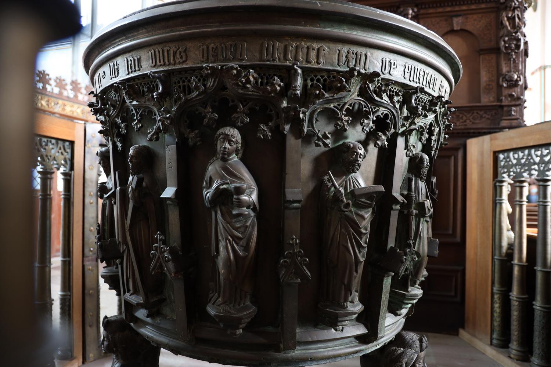 St. Jakobi- Gotisches Taufbecken