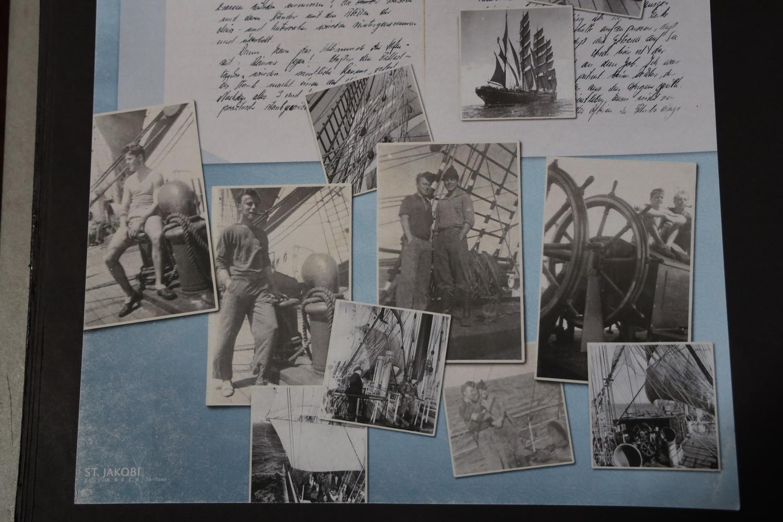 Bilder und Briefe der Opfer der Pamir- Katastrophe 1957