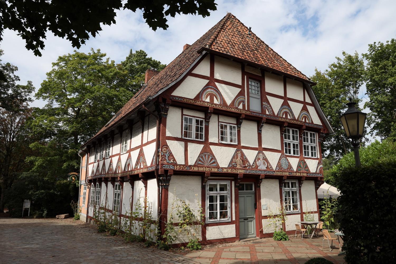 Historisches Fachwerk in der Nähe des Benediktinerklosters Lüne