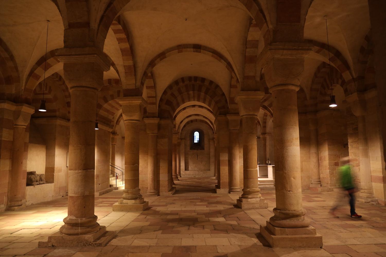 Dom zu Speyer- Hallenkrypta