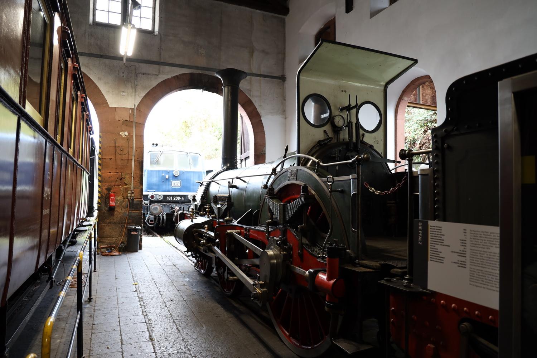 """Eisenbahn- Frühgeschichte- Die """"Pfalz"""""""