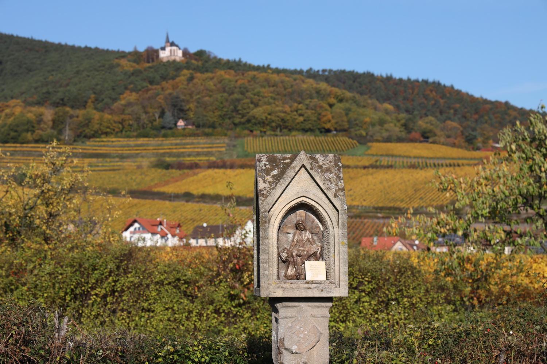 Bildstock für die Seselschlacht bei Gleisweiler