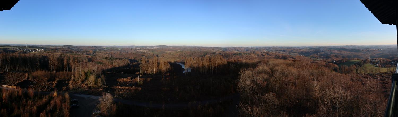 Unnenberg-Turm Blick nach Osten