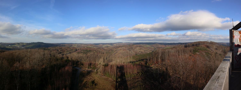 Nordost- Blick vom Knollen