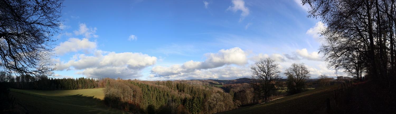 Panorama mit Blick nach Osten