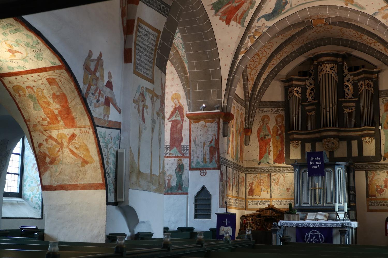 Fresken-Schatz aus dem 15.Jh.