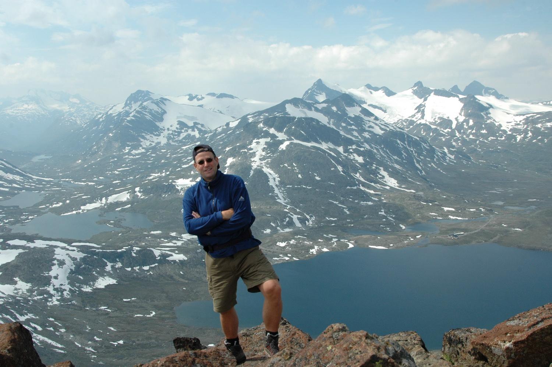 2006-07 Kyrkja 2032m im Jotunheimen-NP Norwegen