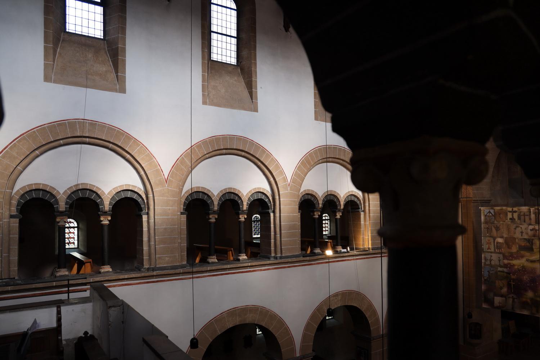 St.Gertrud- Auf der Empore