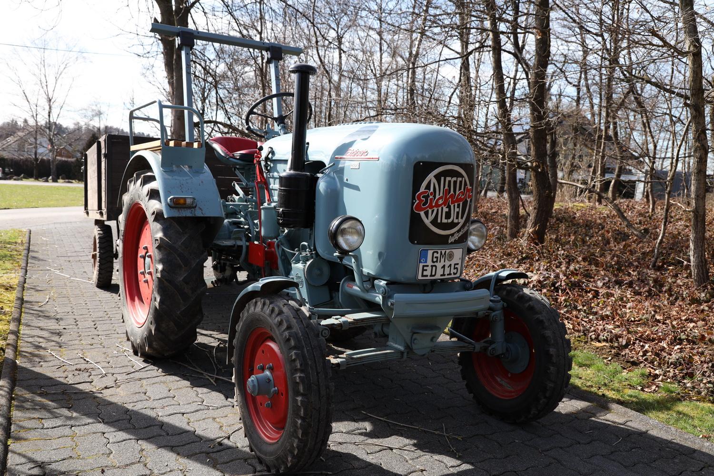 Eicher Diesel- Schlepper