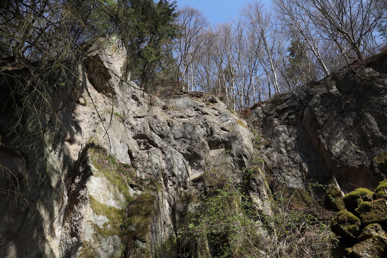 Im Steinbruch der Marxe-Lay