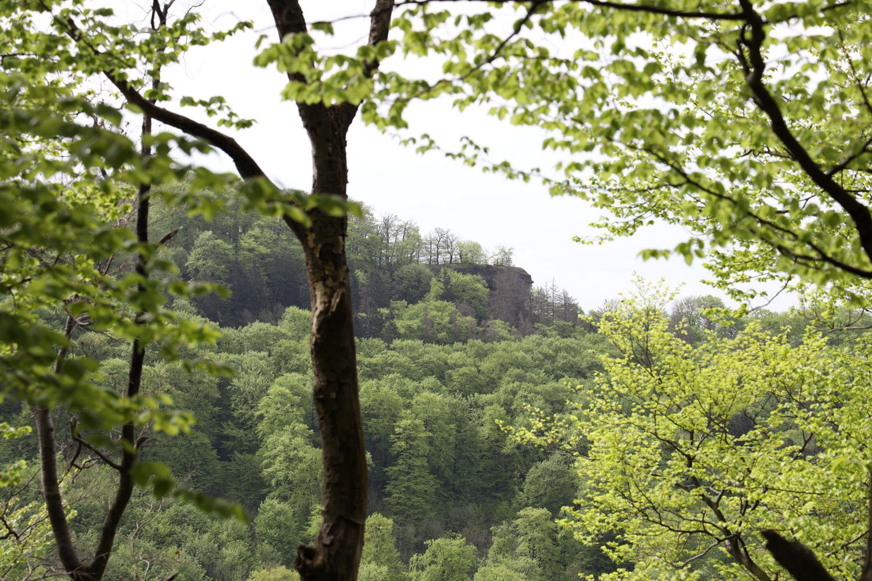 Felsen am Hohenstein -Blick von den Moosköpfen